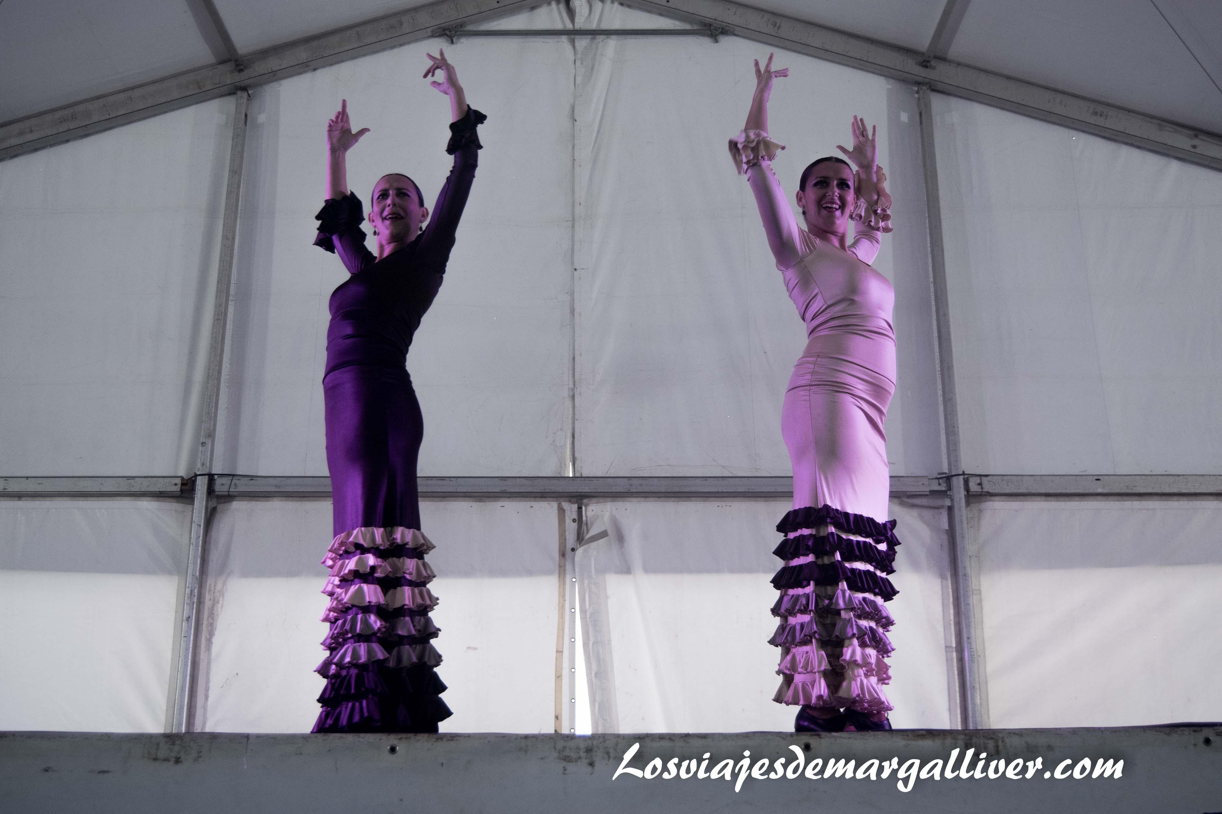 Espectaculo de flamenco en Enoberry - Los viajes de Margalliver